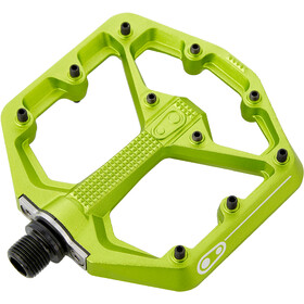 Crankbrothers Stamp 7 Small Pedalen, green
